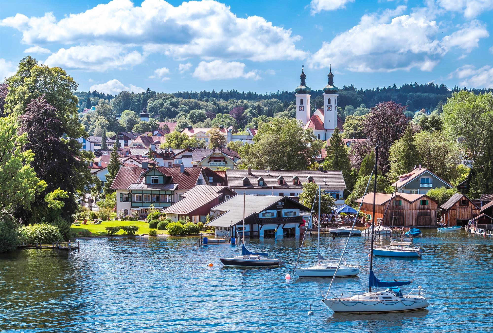 Höchste Kaufkraft bei kreisfreien Städten und Landkreisen im bayerischen Kreis Starnberg